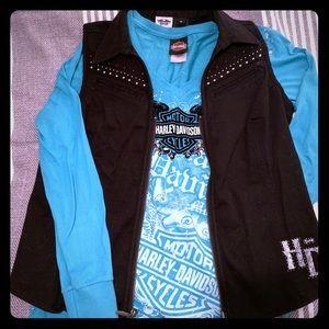 Turquoise HD Long Sleeve Shirt